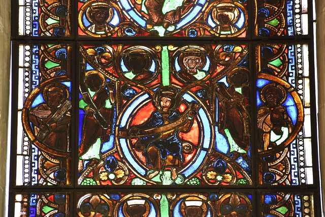 Legden, Westfalen, St. Brigida, east window, 4th level