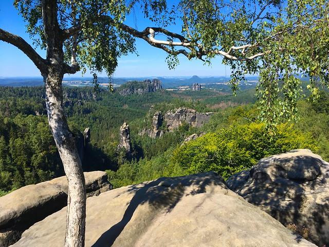 Carolafelsen, Saxon Switzerland - explored! Thanks!