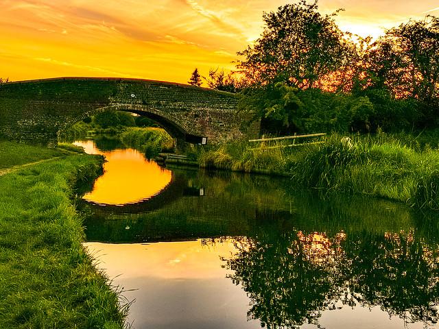 Wolseley Canal, England
