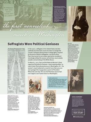 Suffragists Were Political Geniuses
