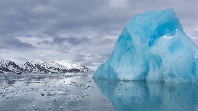 Arctic Iceberg Mountain ©2016 Lauri Novak
