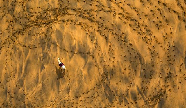 On Golden Sand
