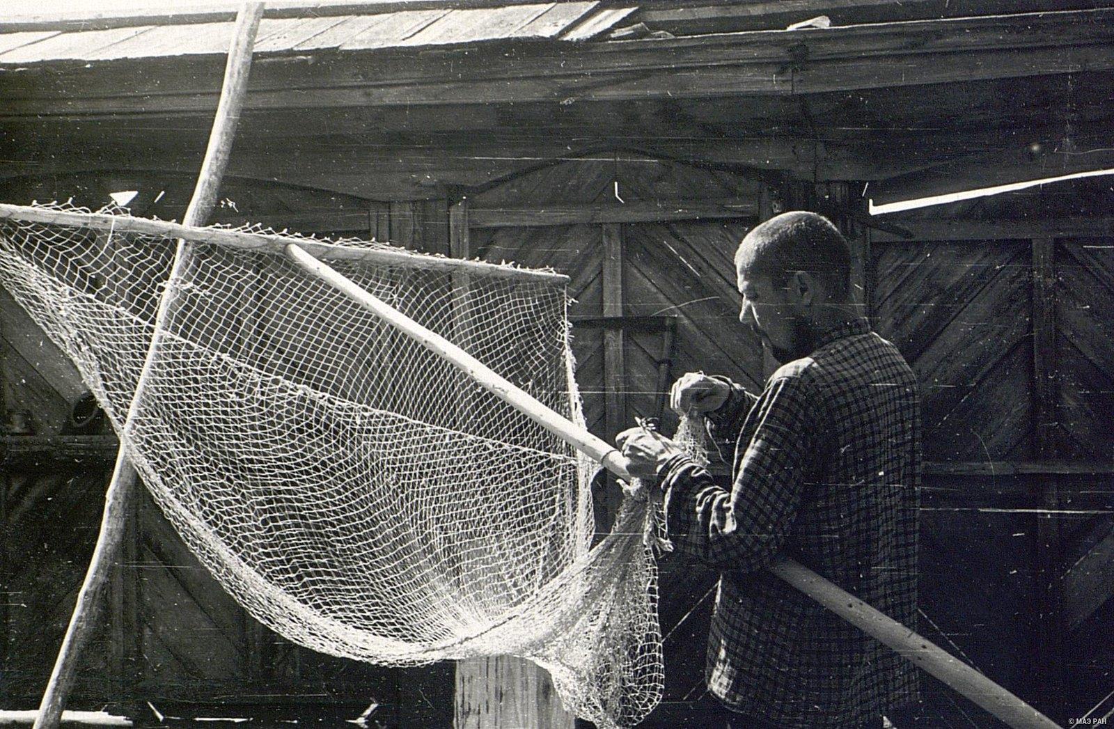 Рыболовная снасть наметка