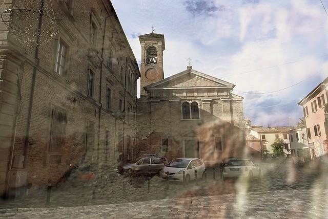 Chiesa San Giuliano Martiri (Multiple Exposure)