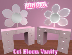 Pink Coi Bloom Vanity