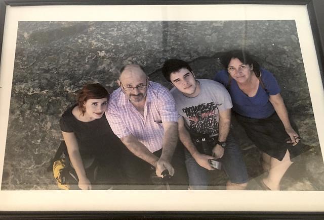 La familia hace unos pocos años