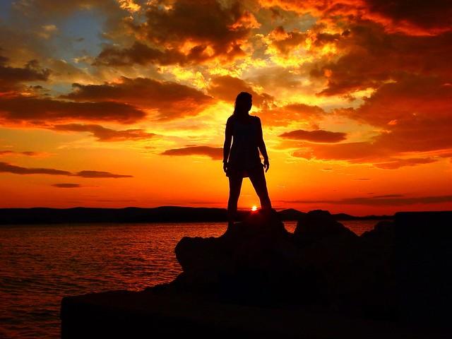 Sunset Biograd Croatia