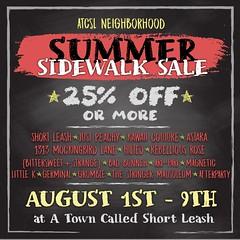 ATCSL Neighborhood's Summer Sidewalk Sale 2020