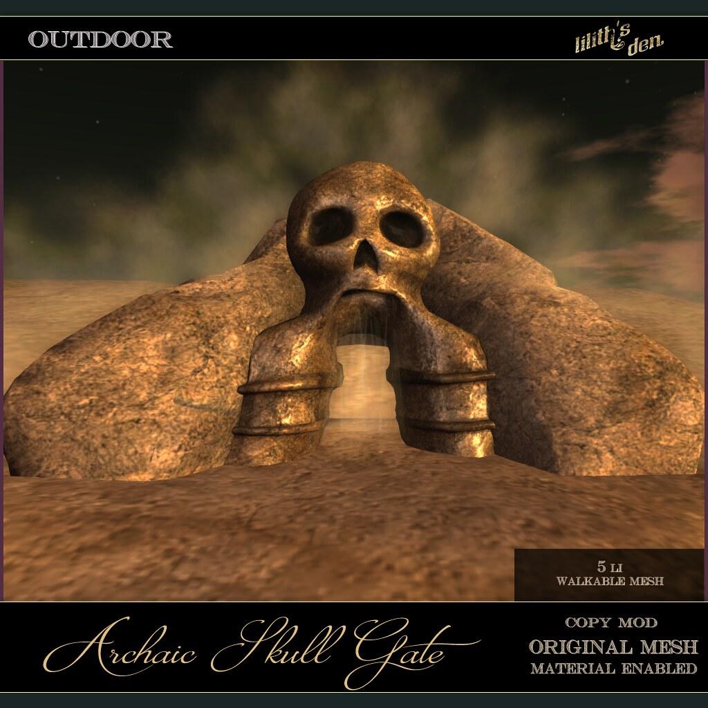 Lilith's Den - Archaic Skull Gate txt