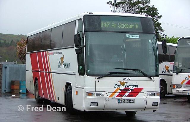 Bus Eireann VP317 (00D54229).