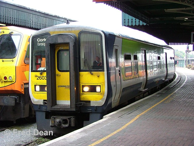 Irish Rail 2603 + 2604 in Kent Station.