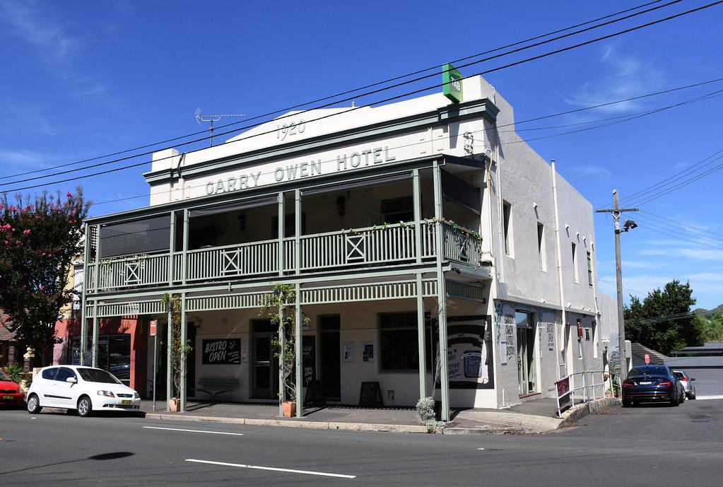 Gary Owens Hotel, Rozelle, Sydney, NSW.