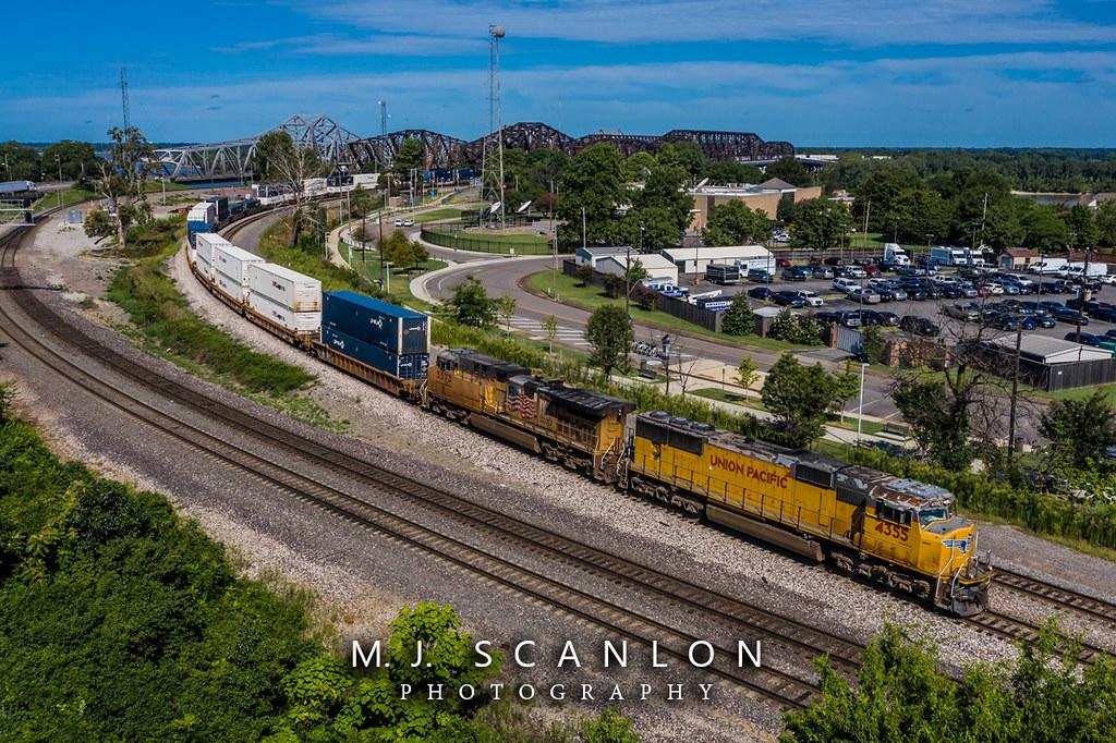 UP 4355 | EMD SD70M | UP Memphis Subdivision