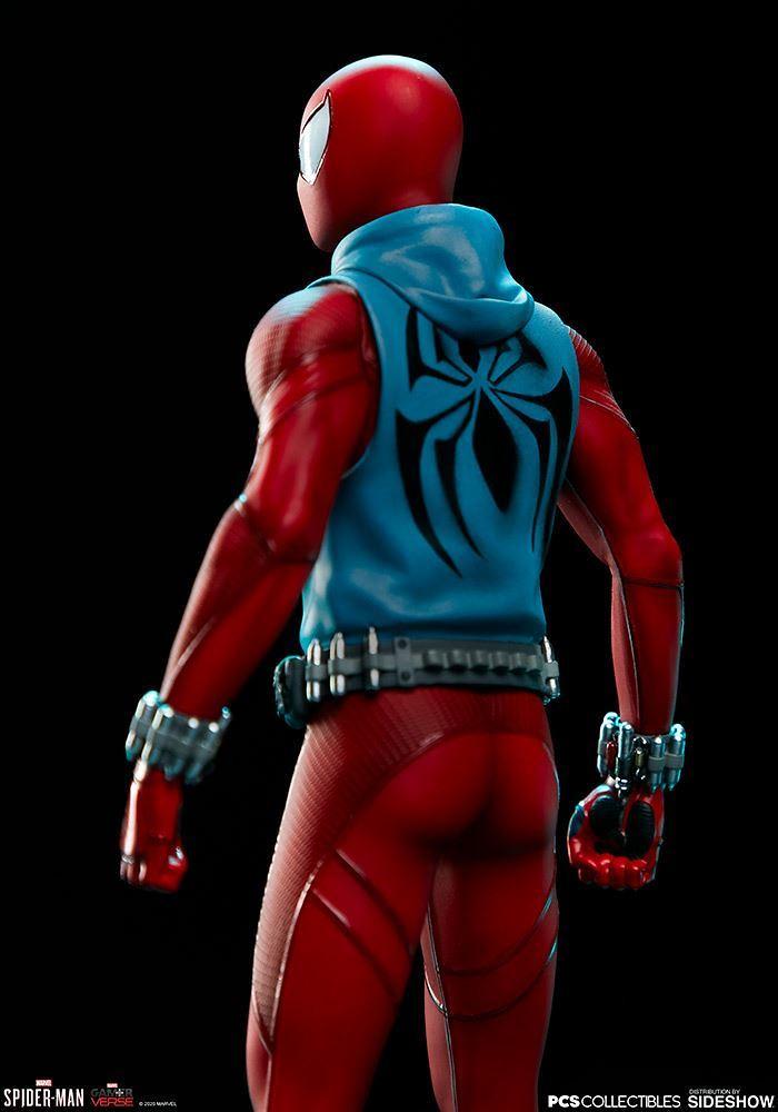 PCS × Sideshow《漫威蜘蛛人》緋紅蜘蛛人(Scarlet Spider)1/10 比例全身雕像