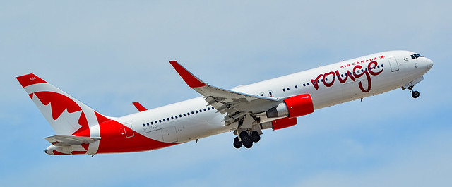 C-FMXC Air Canada Rouge Boeing 767-333ER s/n 25588