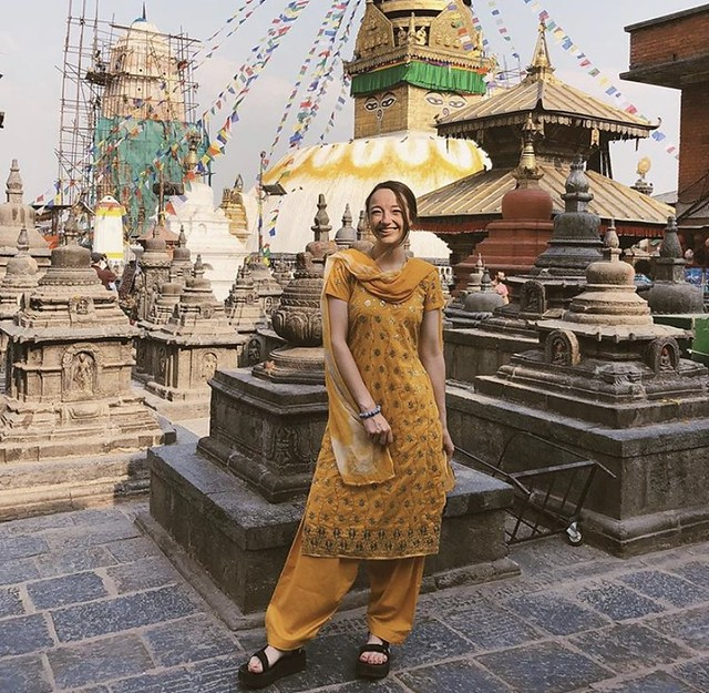Lindsey Olive in Nepal