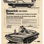 Thu, 2020-08-06 23:12 - Ford Maverick, Torino (1969)