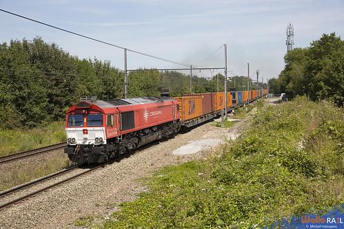 DE 6311 . Crossrail . Z 43490 . Bassenge . 06.08.20.