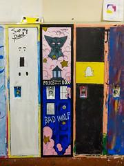 da vinci's painted lockers