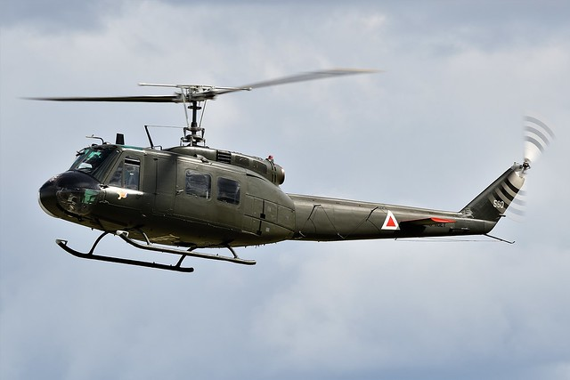 Bell UH-1H Iroquois Huey G-HUEY Helicopter United States Army