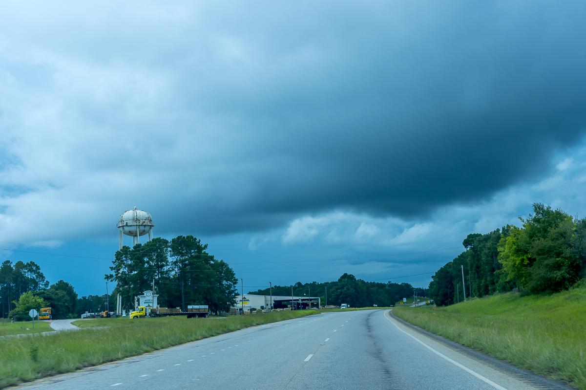 Driving through Alabama