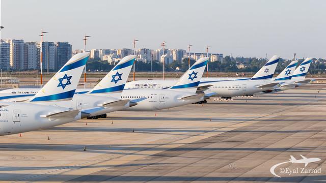 El Al Grounded fleet
