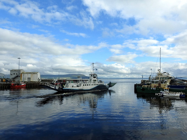 The ferry, Greencastle, Co. Donegal.