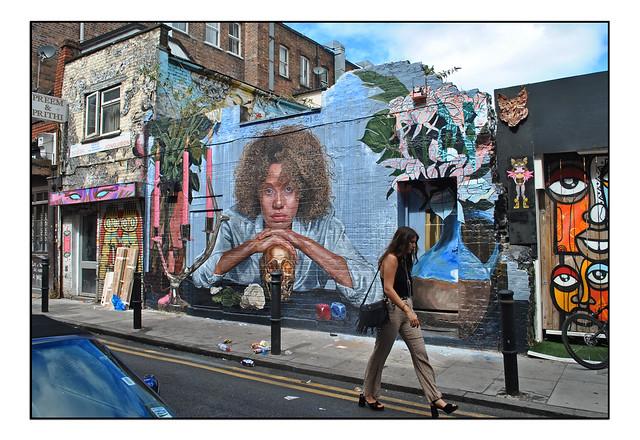 LONDON STREET ART by ANT CARVER