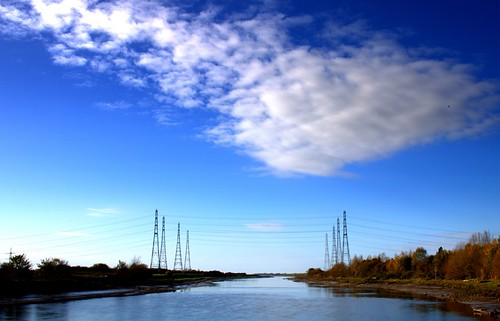 Clouds over the Ribble Pylons | by Tony Worrall