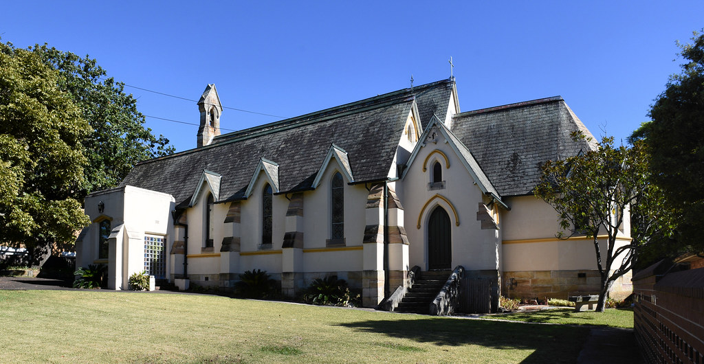 St Luke's Anglican Church, Concord, Sydney, NSW.