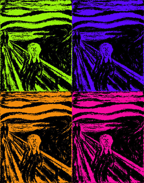 Warhol Scream - Explored