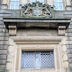 Ornate entrance to the offices of the Lancashire County Council