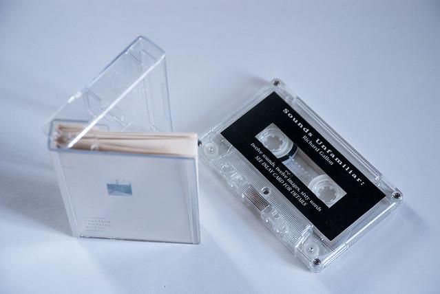 Sounds Unfamiliar one-off cassette artwork (PST007)