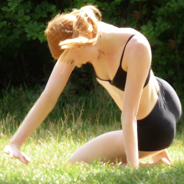 Dancer in Royal Greenwich Park @ 11 July 2020