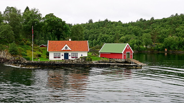 Fargarholmen (islet) in Holmesundet (part of Radsundet)