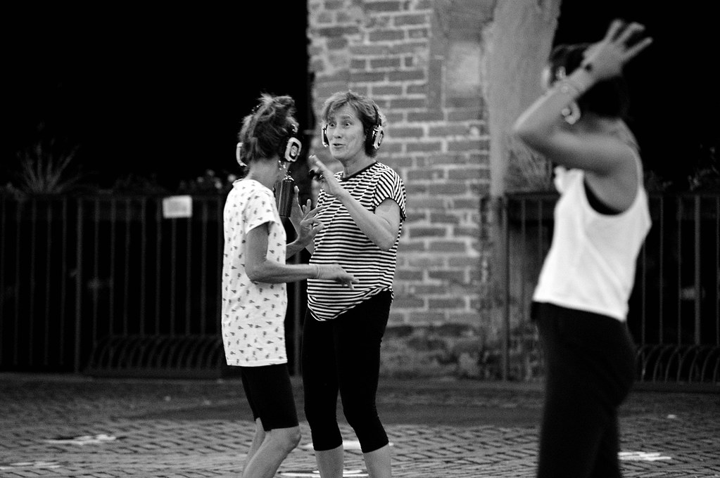 RESTATE IN CITTA' - SERATA SILENT ZUMBA  04 AGOSTO 2020  Foto A. Artusa
