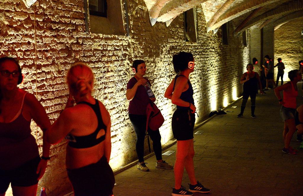 RESTATE IN CITTA' - SERATA SILENT ZUMBA  28 LUGLIO 2020  Foto A. Artusa
