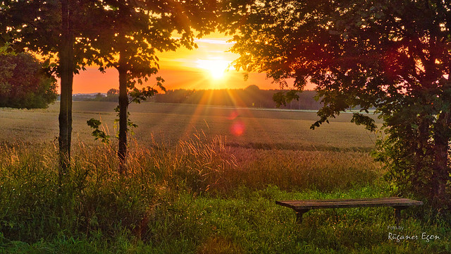 Insel Rügen - Sonnenuntergang