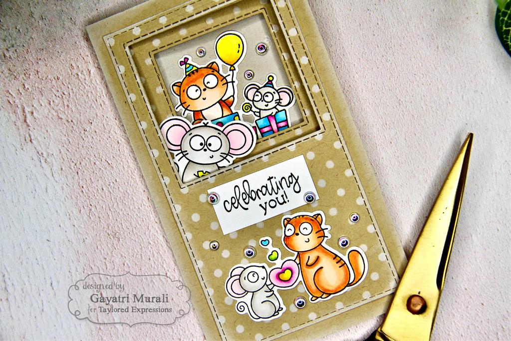 Project #1 card LS closeup