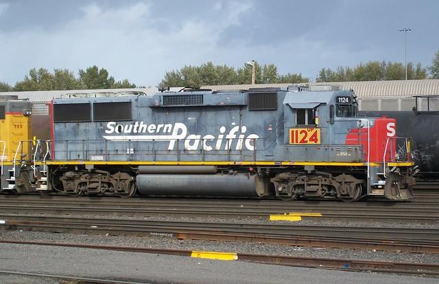 UP 1124 GP60 (Ex-SP 9721)