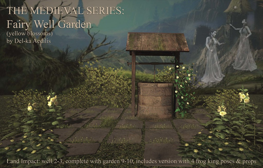 The Medieval Series – Fairy Well Garden