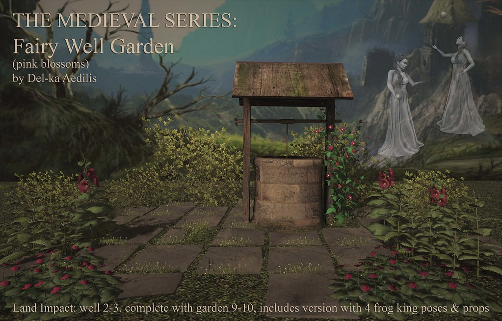 The Medieval Series - Fairy Well Garden