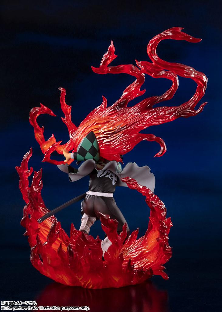 Figuarts ZERO 竈門炭治郎 -火之神神樂- 華麗火焰特效造型預計今年 12 月發售