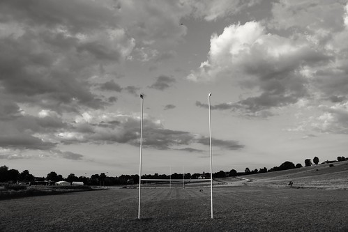 therfieldheath royston hertfordshire blackwhite sky cloudscape clouds landscape rugbypitch england unitedkingdom uk canoneos750d snapseed