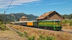 Tren histórico en Santa María y La Peña.