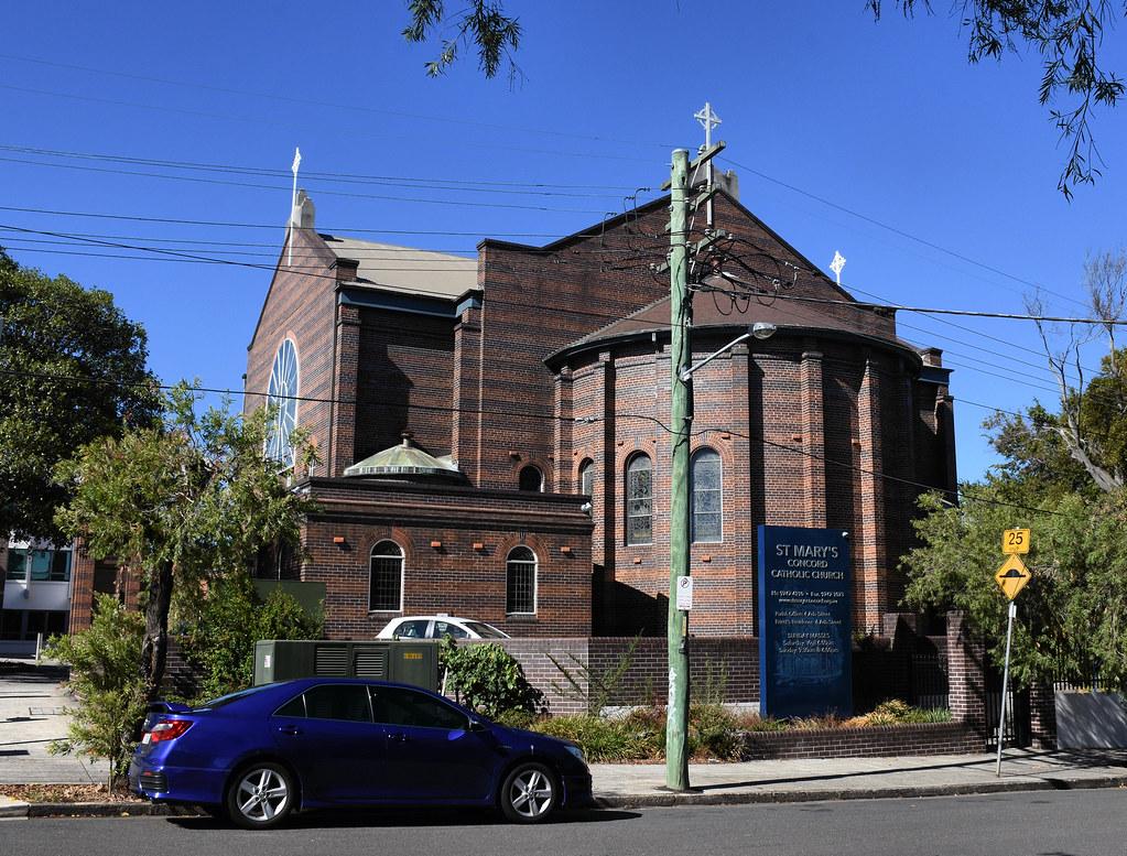 St Mary's Catholic Church, Concord, Sydney, NSW.
