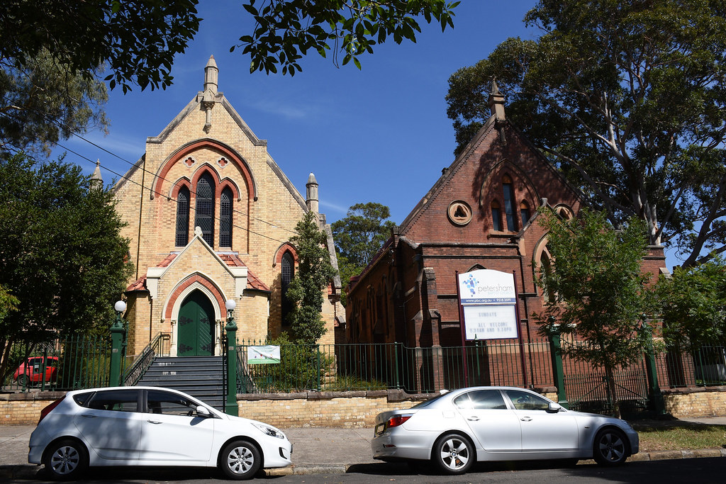 Baptist Church, Petersham, Sydney, NSW.