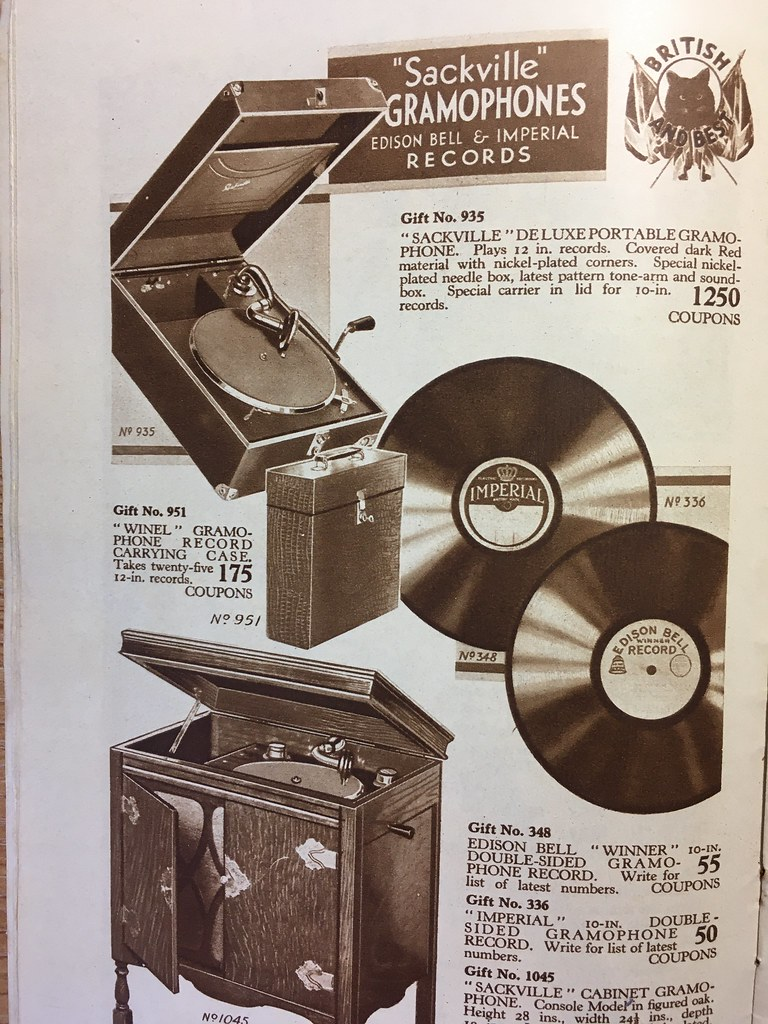 Black Cat catalogue gramophones