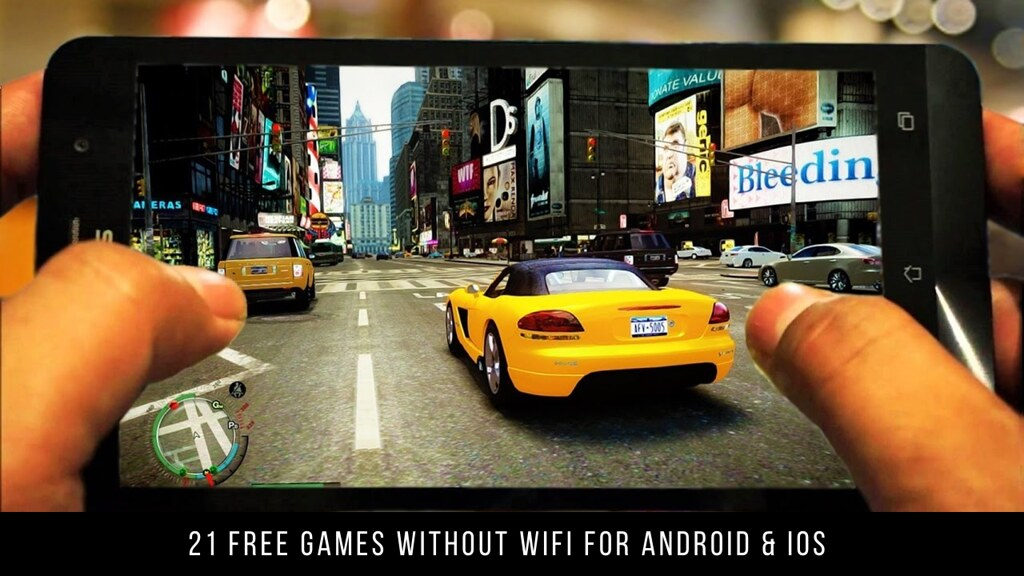 21 Free Games Without WiFi For Android & iOS