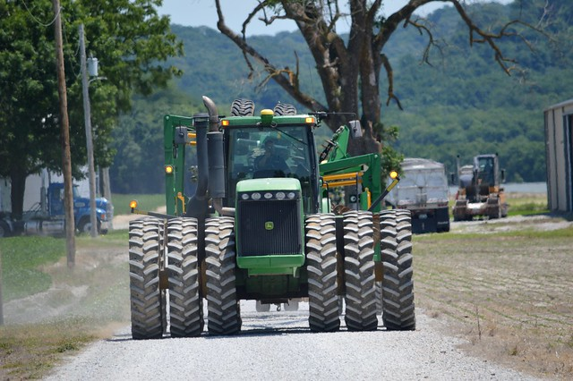 A big bad green machine, McClure Illinois